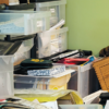 photo of cluttered room